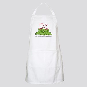 Froggy Love BBQ Apron